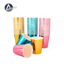 Single Cup Metallized Paper Cup 220 (2000 pcs)