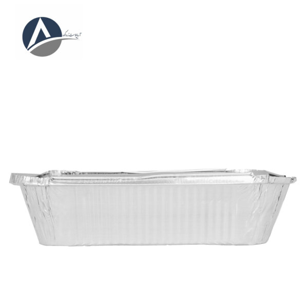 Aavas Aluminum Double Press Container with Lid (500 pcs)