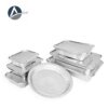 Avas Aluminum Single Press Container (500 pcs)