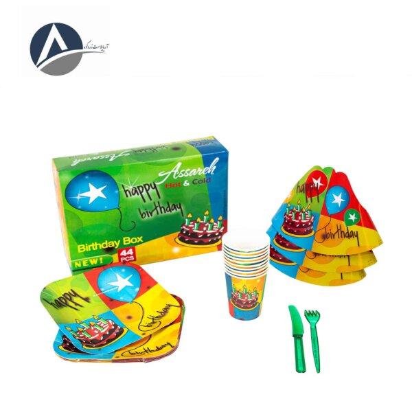 Asareh Simple Birthday Pack ( 12 Pcs )