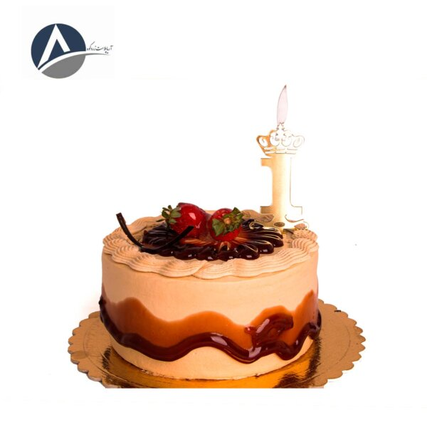 Candles on the cake of the golden multi-number