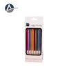 Metallic Candle 558 Six Colors(6 pcs)