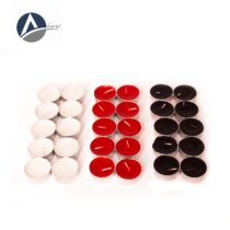 10 Pcs White Black Warmer Candle 4 Hours
